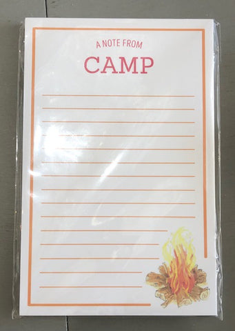 Campfire Note From Camp