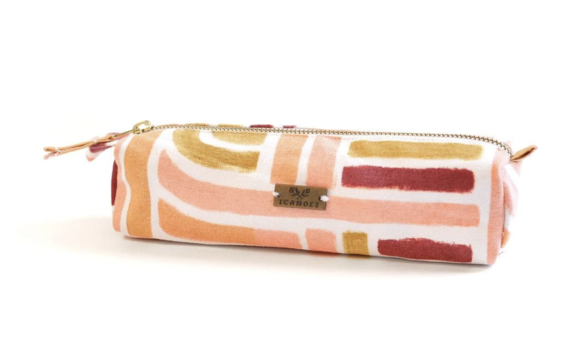 Sunset Stripe Pencil Pouch