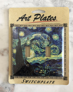 Art Plate Van Gogh Starry Night