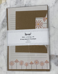 Coneflower Letter Writing Set
