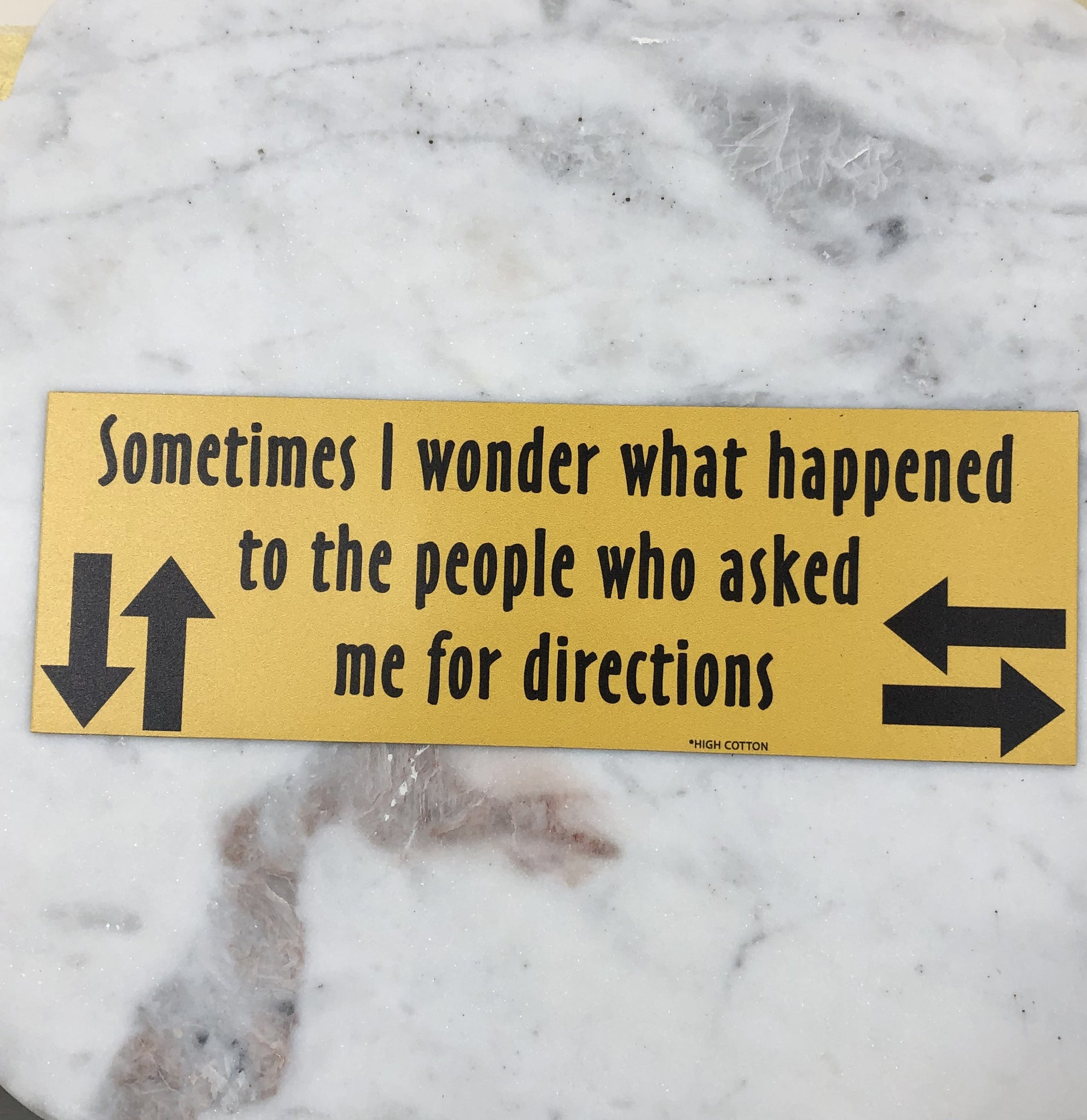 Directions Magnet