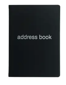 A5 Dazzle Address Book
