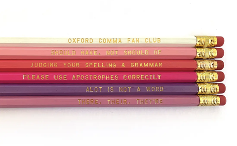 Grammar Pencil Pack