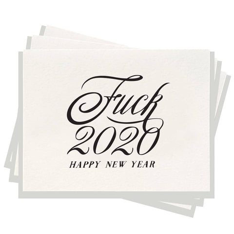 2020 - Letterpress Card Box Set of 6