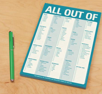 All Out Of Magnet Notepad