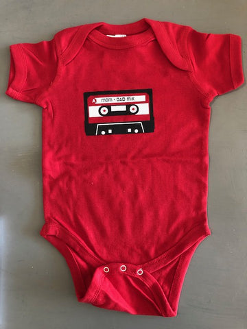 Mom & Dad Mix Tape Bodysuit
