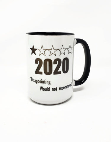 2020 One Star Rating 15 oz Mug