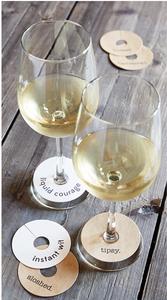 Wine Glass Tag