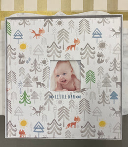 Little Man Memory Book