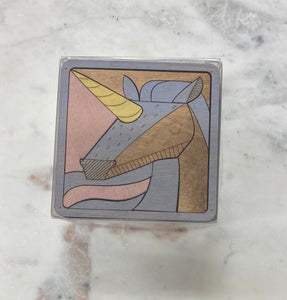 Unicorn Puzzle Coaster