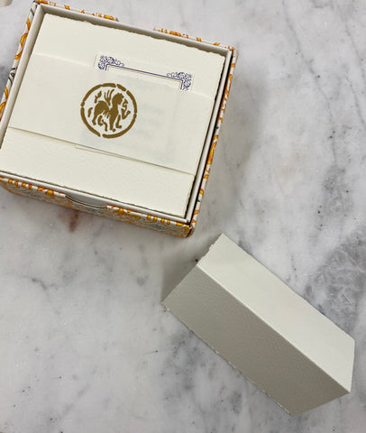 Rossi Medioev Place Card Cream