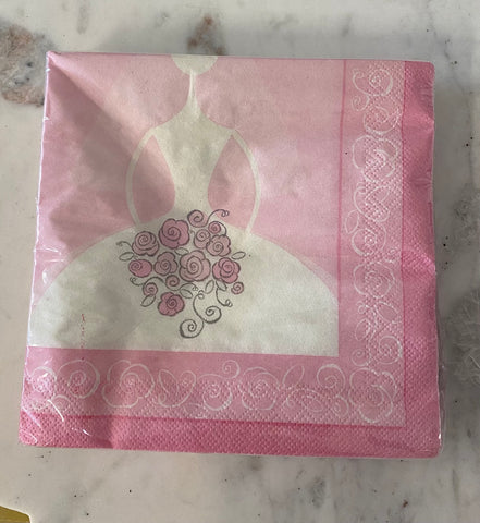 Bride to Be Luncheon Napkins