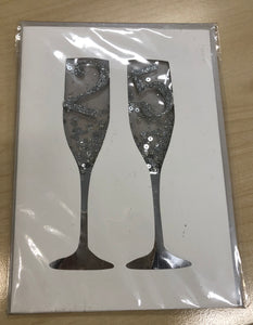 Champagne Glasses '25'