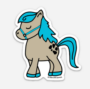3 Inch Little Pony Vinyl Sticker
