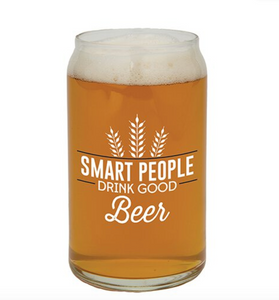 Beer Glass Smart People