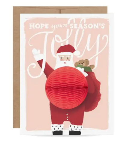 Santa Pop-up Card