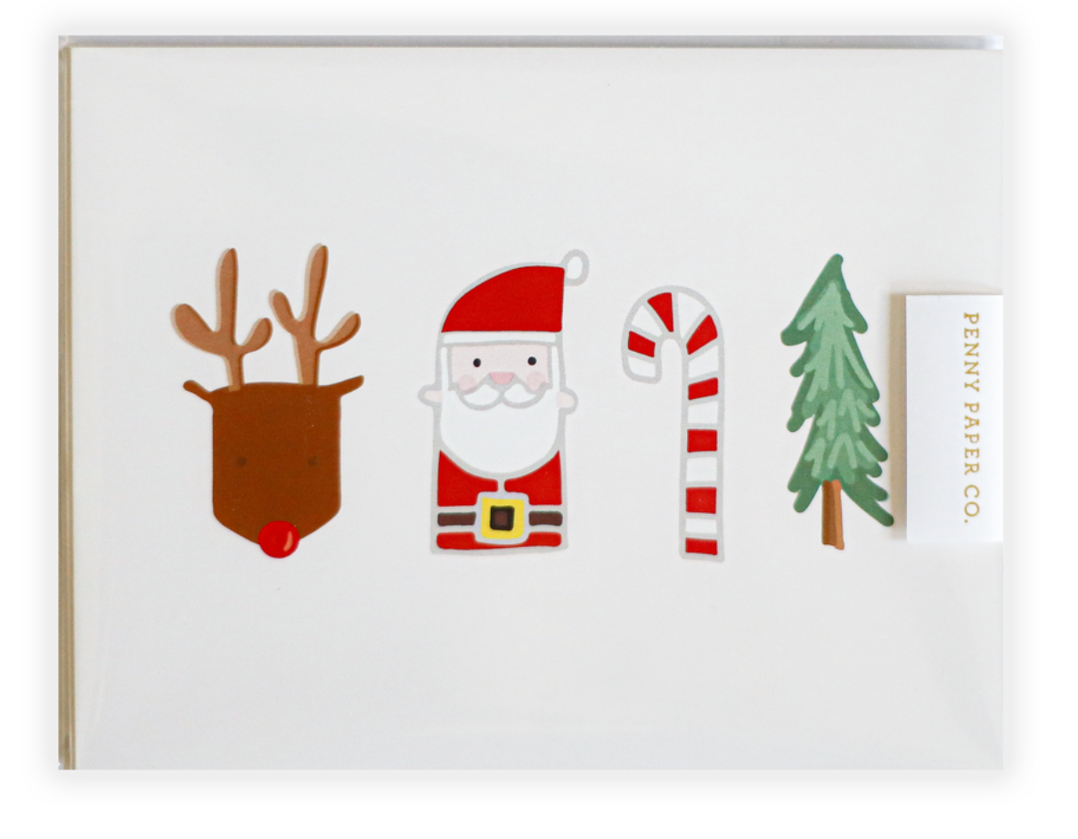 Christmas 10 pc Postcard Set