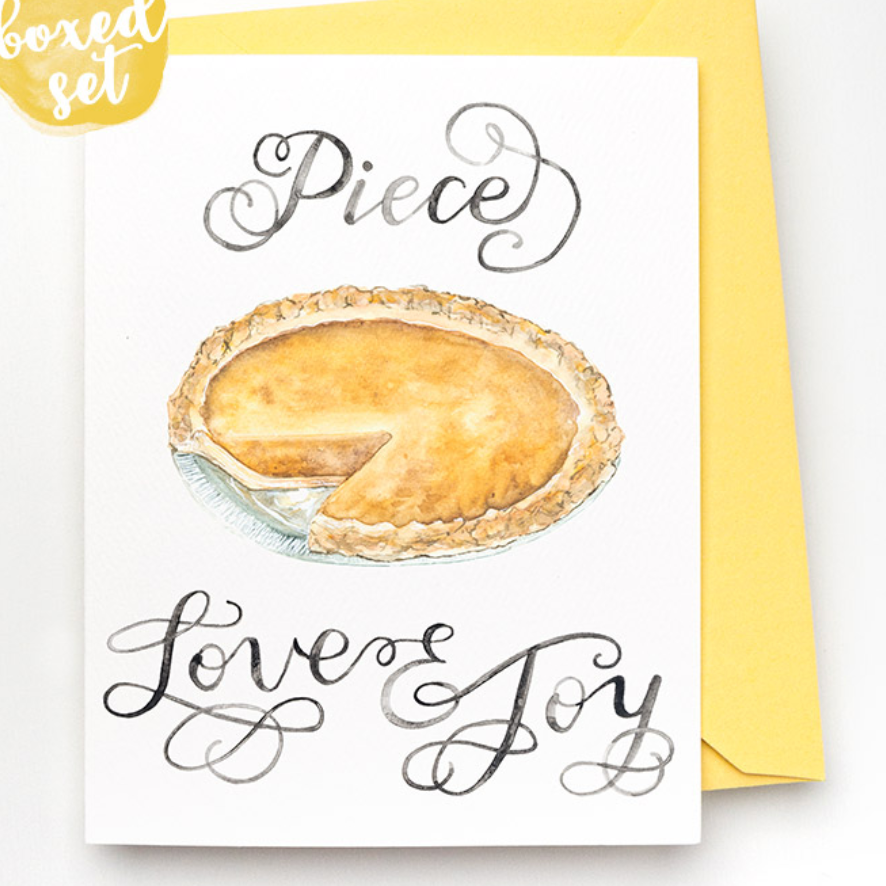 Piece Love & Joy Boxed Cards Set