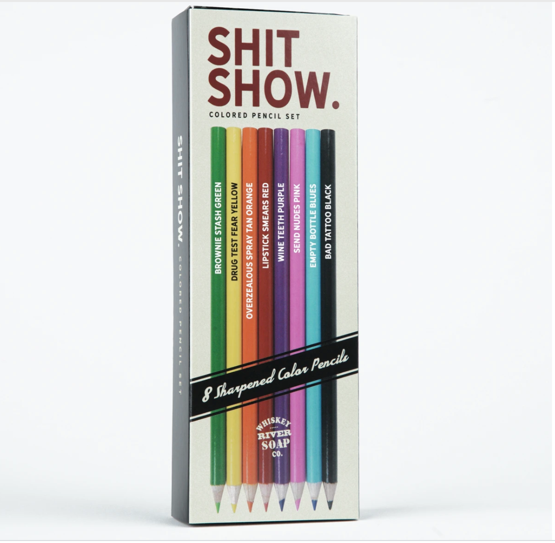 Shit Show Colored Pencils