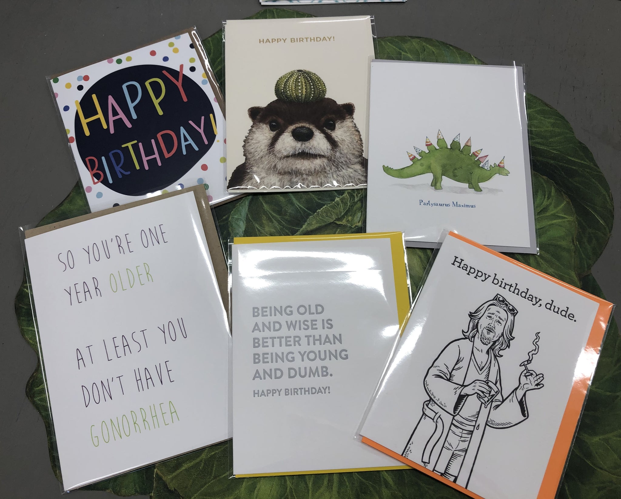Mixed Birthday Cards