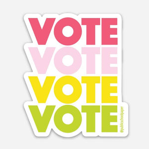 """Vote"" Vinyl Sticker"