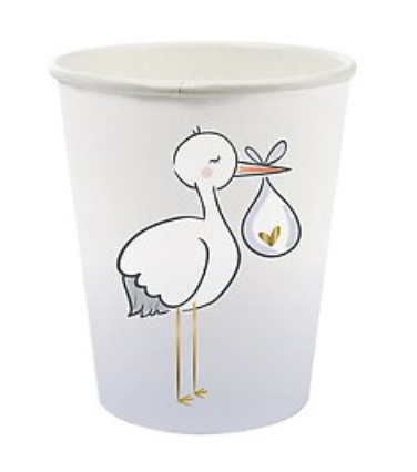 Stork Paper Cup