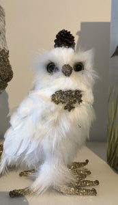 Owl Small White