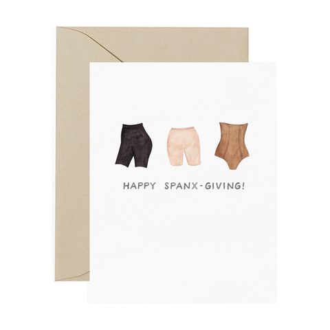 Spanx Thanksgiving Card