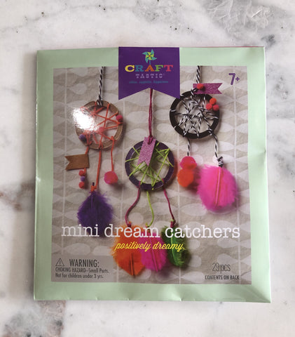 Mini Dream Catchers Kit