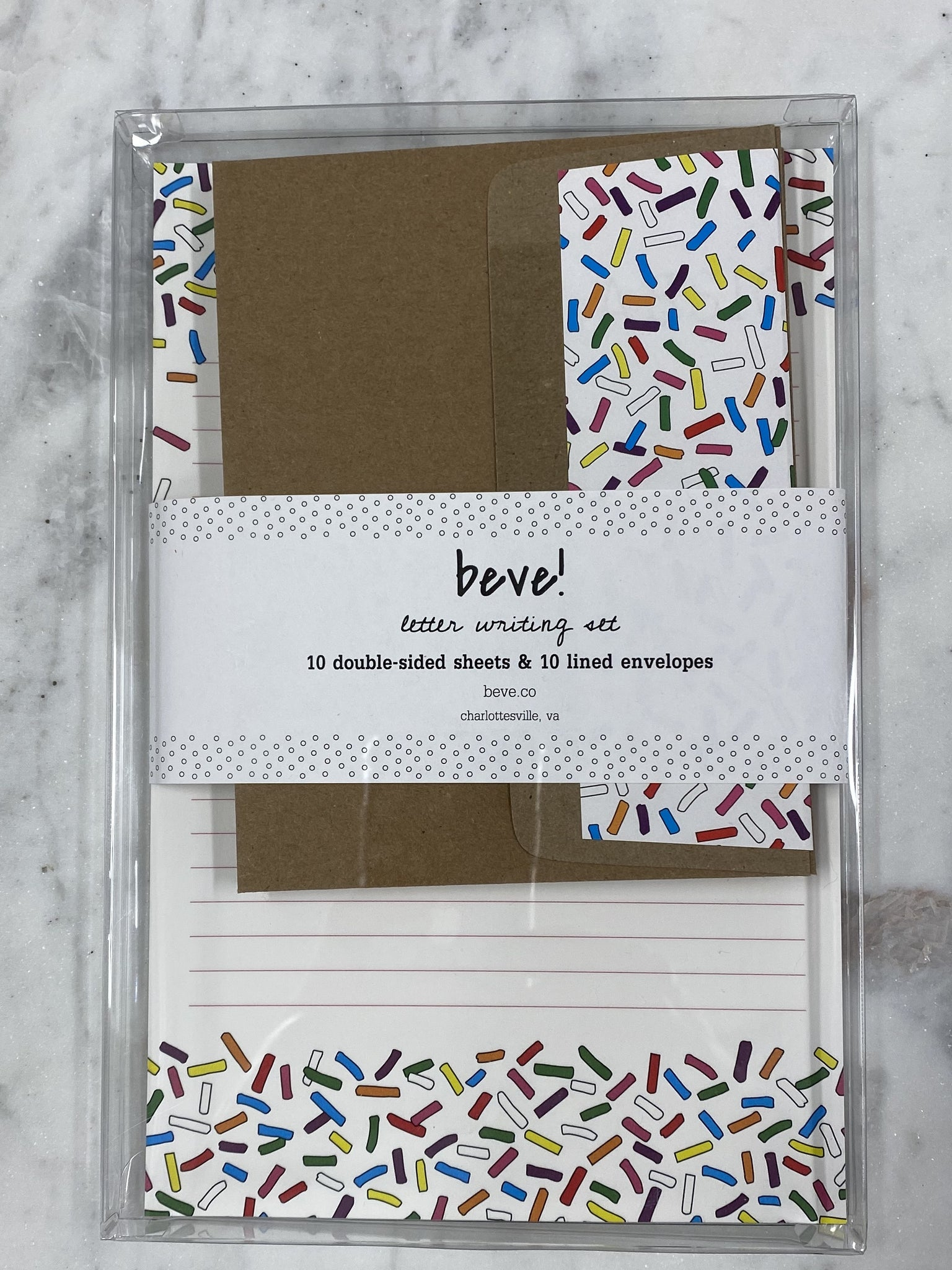 Sprinkles Letter Writing Set