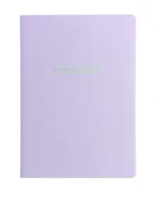 Pastel A6 Address Book Lilac