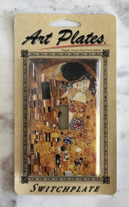 Art Plate Klimt The Kiss Single