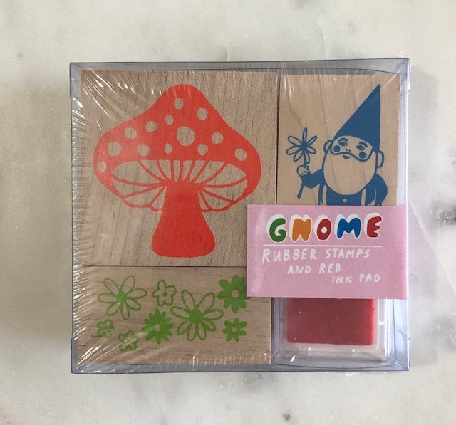 Gnome Rubber Stamps