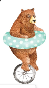 Nice Wheels Bear Table Accent
