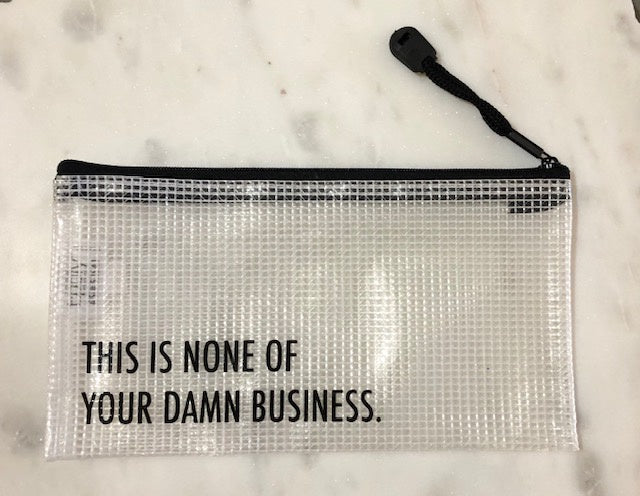Damn Business Pouch