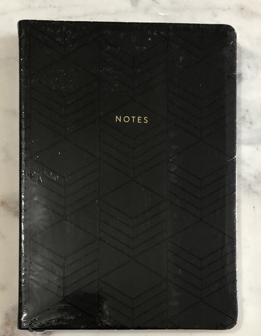 Black Geo Style Journal