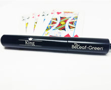 "Load image into Gallery viewer, Extendable  Metal Straw with Carrying Case, Black, ""King"""