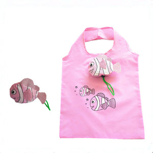 reusable grocery shopping bag, tote, washable, nylon, foldable