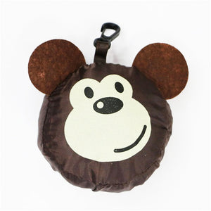 Cute Reusable Grocery Foldable Tote Bag Animals