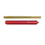 Best Reusable Red Telescopic Metal Straw Set with case, Customized, Personalized with you Name BeLeaf-Green