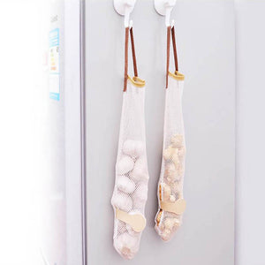 Hanging Produce Storage Mesh Bag - beleafgreen