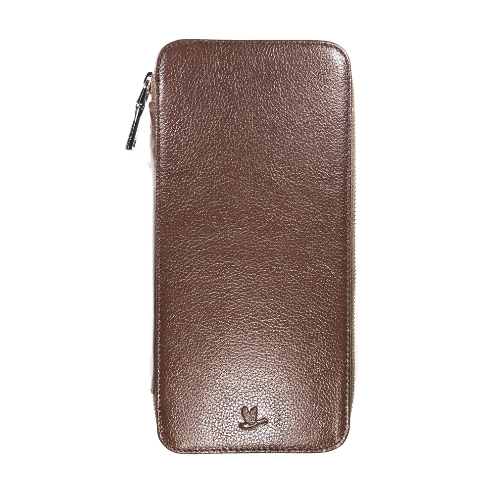 <transcy>Family Passport Holder - Brown</transcy>