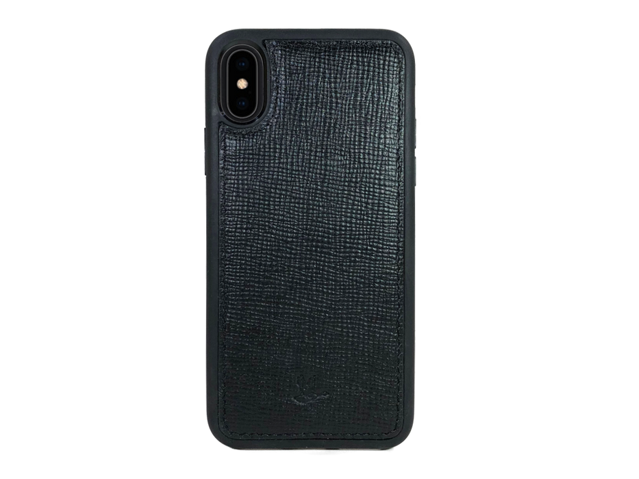 iPhone X/XS - Negro Saffiano