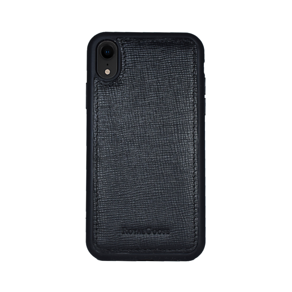iPhone XR - Negro Saffiano
