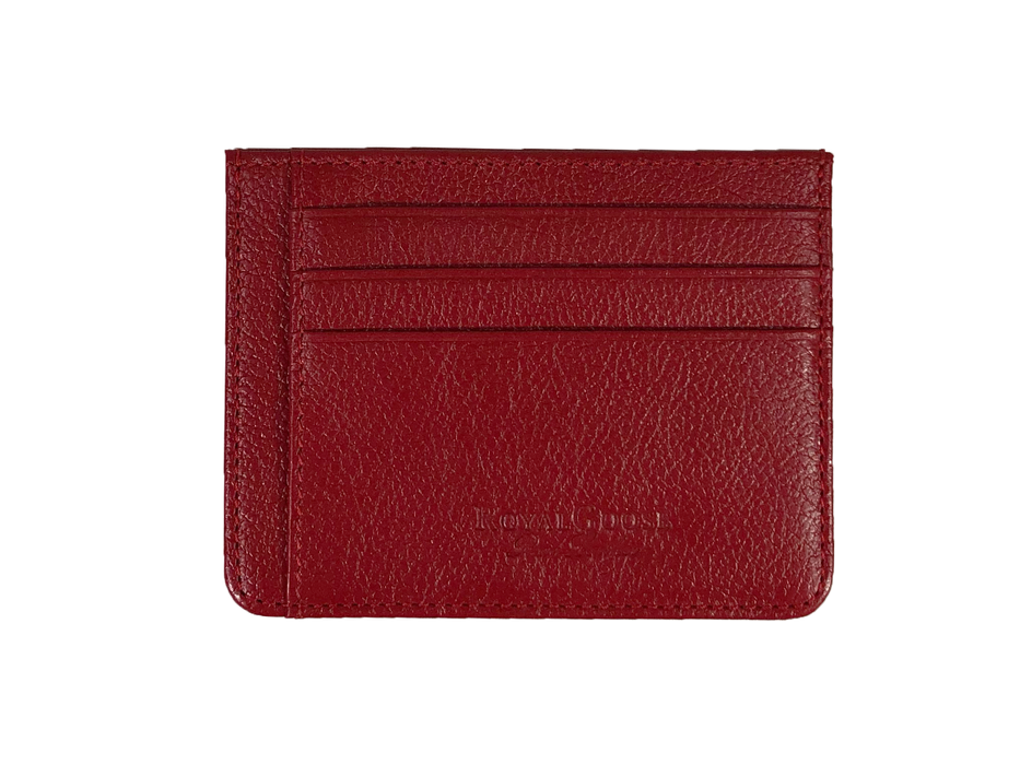 <transcy>Tailor&#39;s Card Holder - Red</transcy>