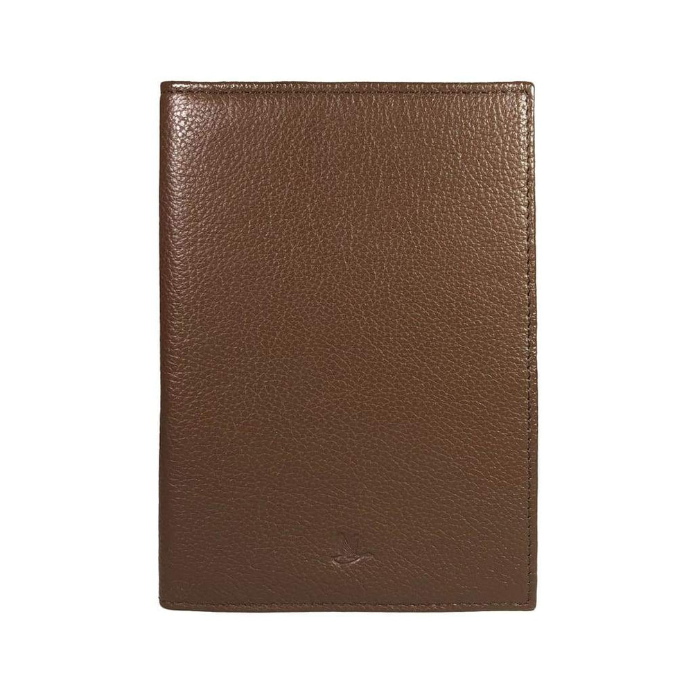 Mini Porta Pasaportes <P>Mini Passport Holder</p> - Brown - Mini Passport Holder