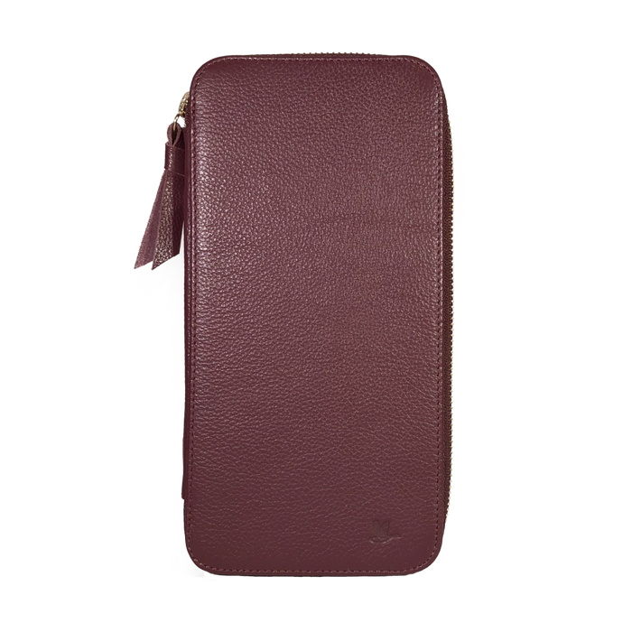 Porta Pasaportes <P>Passport Holder</p> - Wine - Passport Holder