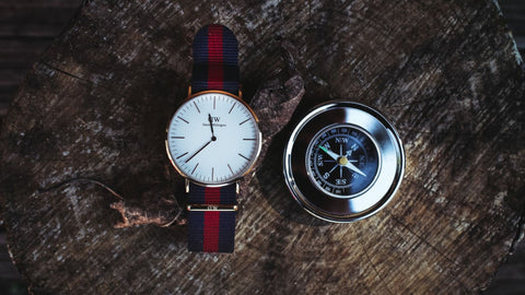 Watch and Compass