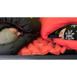 KLYMIT Insulated Double V Orange Ultra-Lite Double Size Comfortable Sleeping Pad