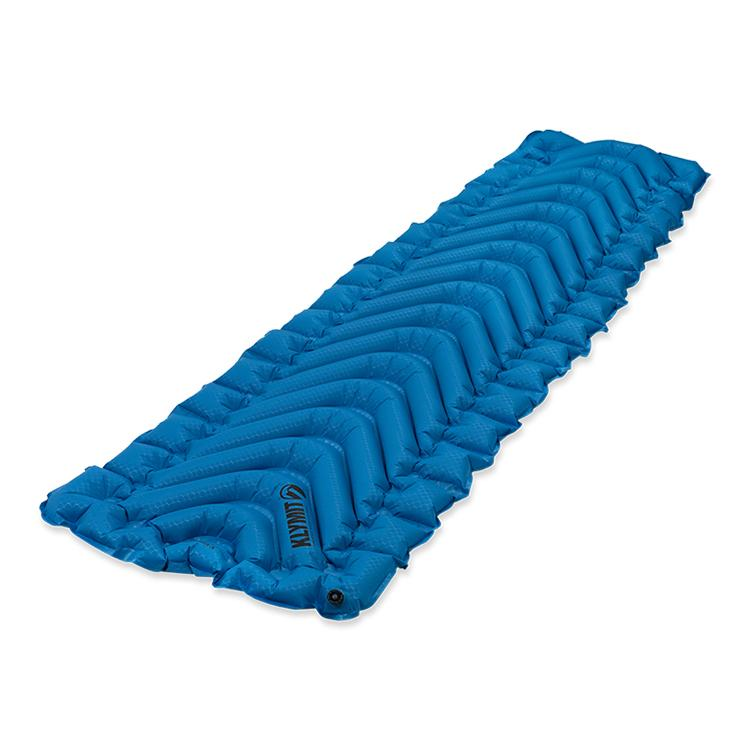 KLYMIT Static V Ultralite SL Blue Backpacker Hiker Inflatable Sleeping Pad
